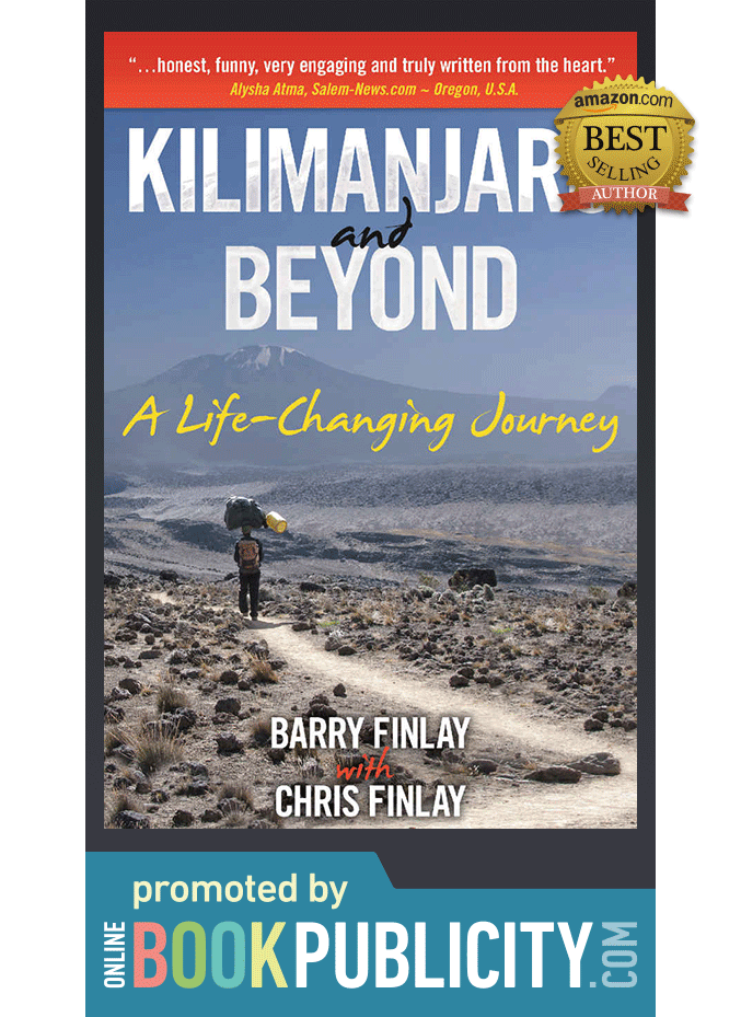 Inspirational Travel Memoir Promoted by Online Book Publicity